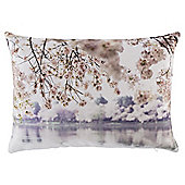 Winter Blossom Photographic Cushion