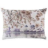Winter Blossom Photographic Cushion