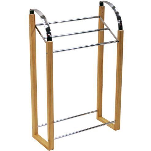 Techstyle Metal Three Rung Towel Rail
