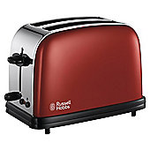 Russell Hobbs Colours 18951 2 Slice Toaster - Red
