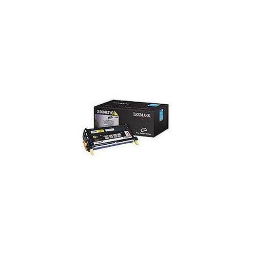 Lexmark X560 Yellow High Yield Print Cartridge (10K)