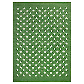 Lorena Canals Estrellitas Green Children's Rug - 120 cm x 160 cm (4 ft x 5 ft)