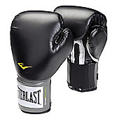 Everlast Pro Style Training Boxing Gloves - Black
