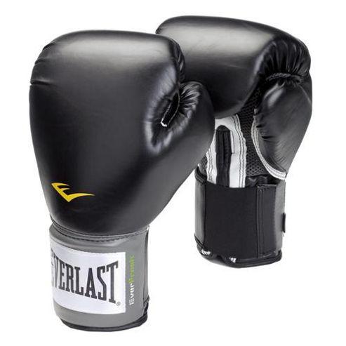 Everlast Pro Style Training Boxing Gloves Black - 12oz