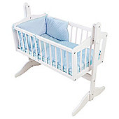 Isabella Alicia Dimple Crib Set (Blue)