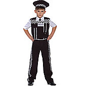 Child Policeman Uniform Fancy Dress Costume