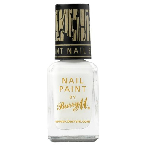 Barry M Nail Paint 316 - Instant Nail Effects Crackle White Frost