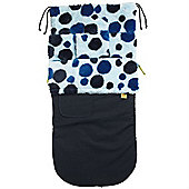 Buggy Snuggle Explorer Waterproof Buggysnuggles (Retro Blue Spotty)
