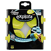 TT Explora      Freezer Tray+   4X 2Oz Pots Wht