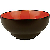 Waechtersbach Duo Cereal Bowl in Chili and Chocolate (Set of 4)