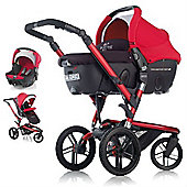Jane Trider Extreme Formula Travel System (Deep Red)