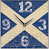 Smith & Taylor Saltire Square Wall Clock