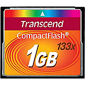 Transcend 133X (1GB) CompactFlash Card