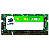 Corsair Value Select SODIMM 2GB PC2-5300 667MHz DDR2 SDRAM Notebook Memory Module