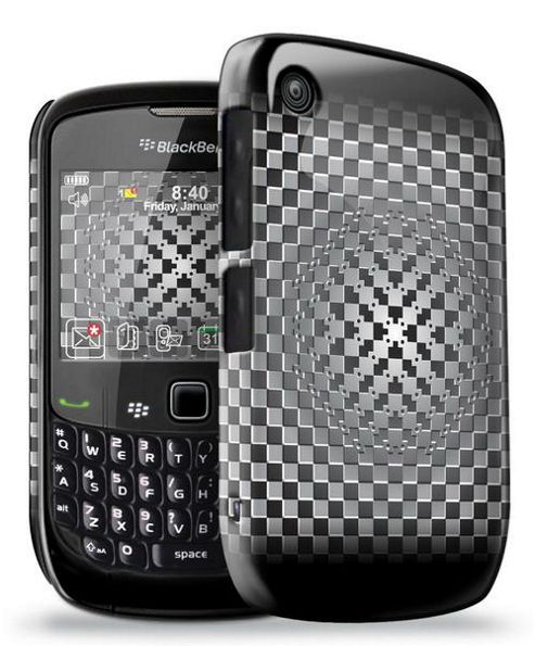 Blackberry 8520 - Official Optical Illusion Phone Clip Case