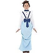 Posh Victorian Girl - Child Costume 7-9 years
