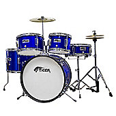 Tiger Blue 5 Piece Junior Drum Kit