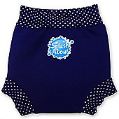 Splash About Happy Nappy XX Large (Navy & White Dot)