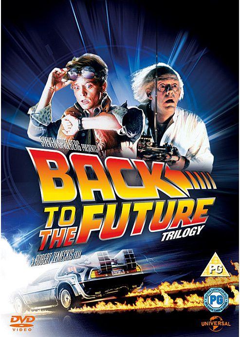 Back To The Future 1-3 DVD Boxset