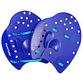 Tunturi Swimming Training Hand Paddles - Blue