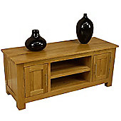Oakland Chunky Large Oak TV Stand / Oak TV Unit