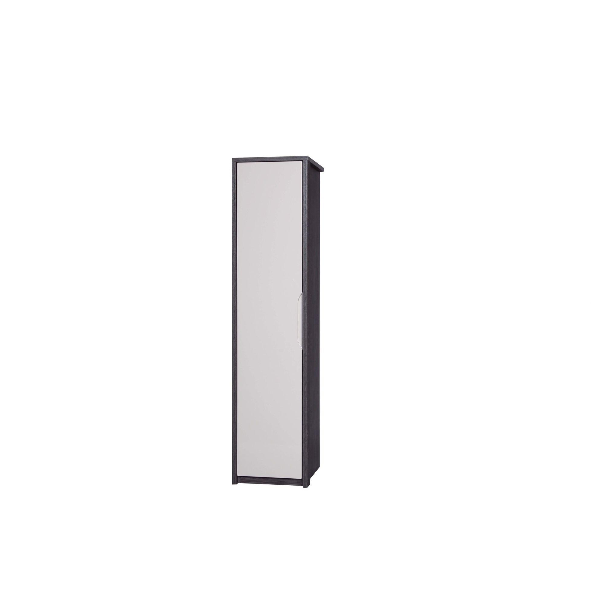 Alto Furniture Avola Single Wardrobe - Grey Avola With Sand Gloss at Tesco Direct