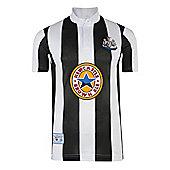 Newcastle United 1996 Home Shirt - Black & White