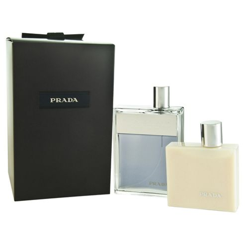 Prada M Eau De Toilette 100Ml & As Balm 100Ml For Men By Prada