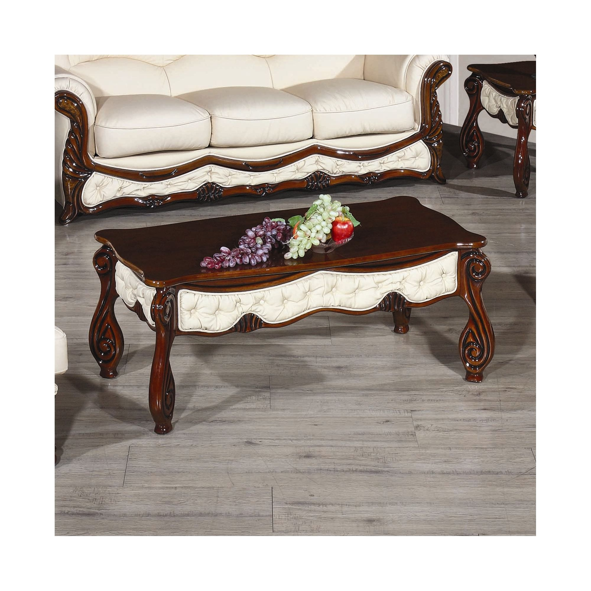 JPL Furniture Christina Coffee Table - Rose White at Tescos Direct