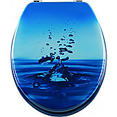 Sanwood Blubb Toilet Seat in Blue