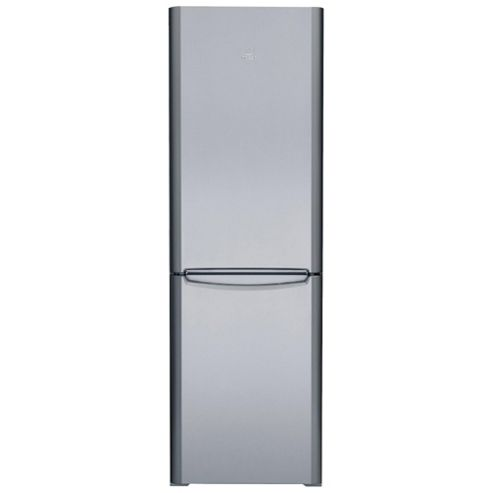 Indesit BIAA12SI Fridge Freezer, A+, 60, Silver