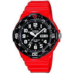 Casio Casio Collection Mens Red Day & Date Watch MRW-200HC-4BVEF