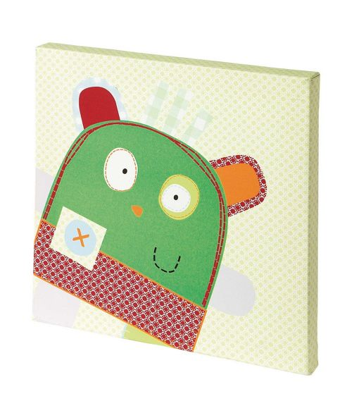 Mamas & Papas - Gingerbread Monster - Picture Canvas