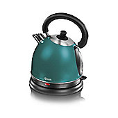 Swan SK23010TELN Teal Traditional Kettle