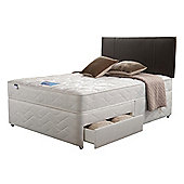 Silentnight Miracoil Kingston Single 2 Drawer Divan set