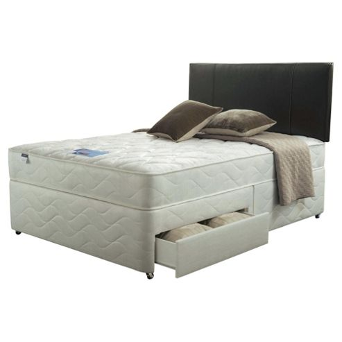 Silentnight Single Divan Set - Miracoil Kingston, 2 Drw