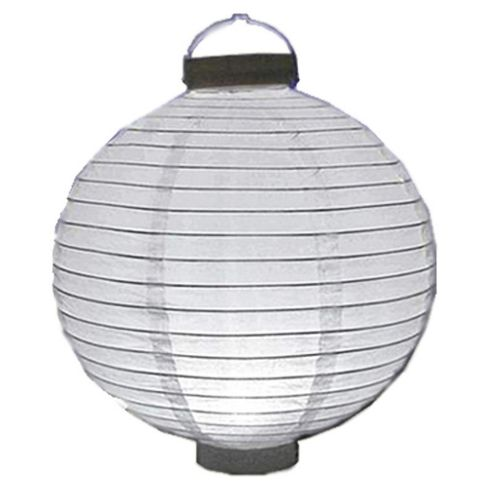 Loxton Lighting Battery Paper Lantern in White