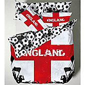 Catherine Lansfield Kids England Double Bed Quiltset - World Cup Special
