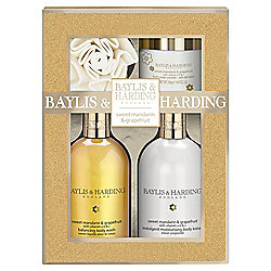 Baylis & Harding Sweet Mandarin & Grapefruit Benefit Set