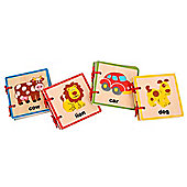 Bigjigs Toys BB062 Baby Books (Pack of 4)