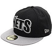 New Era Cap Co Edge Up Brooklyn Nets New Era Cap Size: 7 1/4 inch