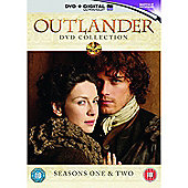 Outlander - Season 1 & 2 DVD