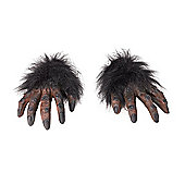 Hairy Hands Brown