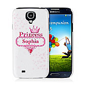 Personalised Bling Princess Samsung S4 Case