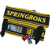 Canterbury South Africa Springboks Rugby Union World Cup 2007 Scarf