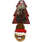 Rosewood Christmas Violent Veg Nut Slipper Tug
