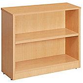WoodstockLeaBank Fraction Bookcase - Oak - 80cm H x 80 cm W