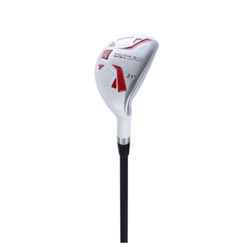 Young Gun Sgs V2 Junior Golf 21 Degree Hybrid Right Hand Red Age 9-11