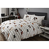 Cats & Dogs 13.5 Tog University Bedding Bundle - Double