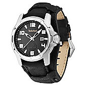 Timberland Durham Mens Leather Date Watch 13866JS-02